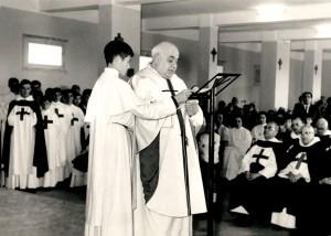 Inauguración del seminario (1963).